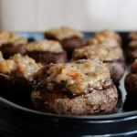 Bite Sized Stuffed Mushrooms