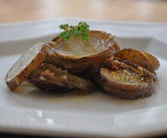 Kickin' Parmesan Roasted Potatoes …. Meatless Monday!