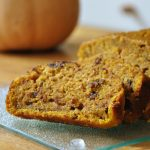 Whole Wheat Pumpkin Chocolate Chip Bread