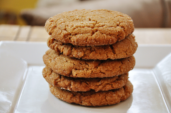 Ginger molasses cookies, I first tried these at Starbucks, where they ...