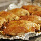 spicy honey glazed chicken thighs