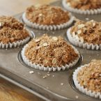 whole wheat bran breakfast muffins