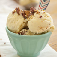 vanilla chipotle almond ice cream