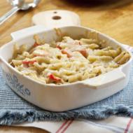 baked pesto pasta