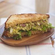 Bacon Avocado Egg Salad Sandwich