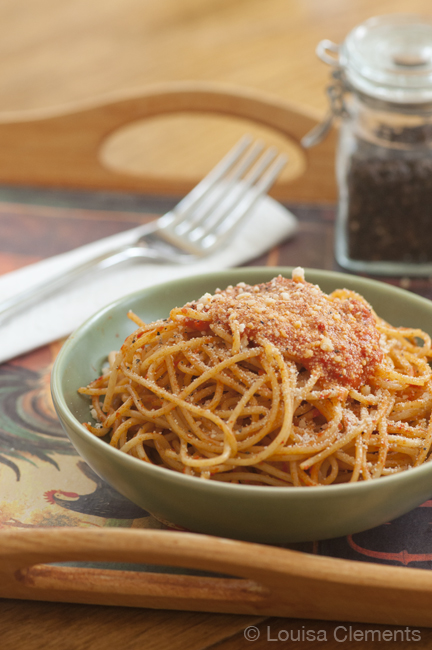 this roasted red pepper sauce is one of the simplest pasta sauces you ...