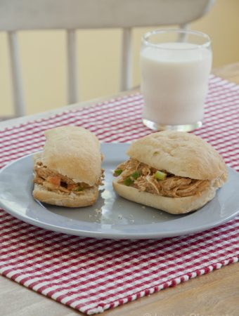 Chipotle Chicken Salad Sandwiches