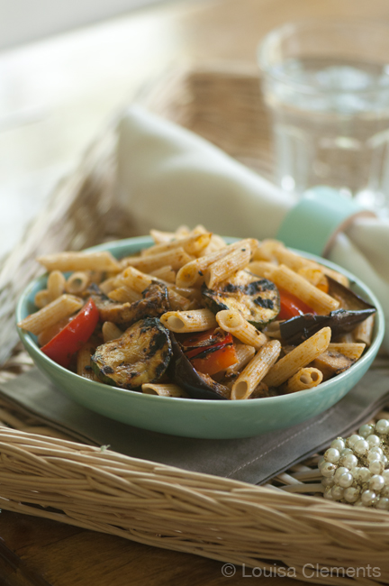 Pasta Salad with Grilled Vegetables