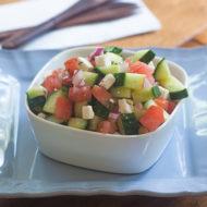 authentic greek salad