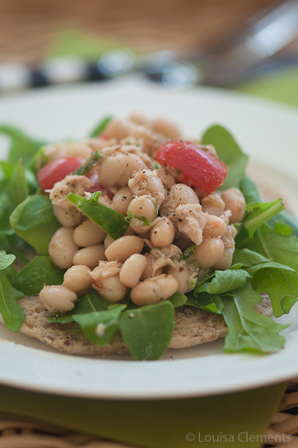 White Bean Tuna Salad — Living Lou