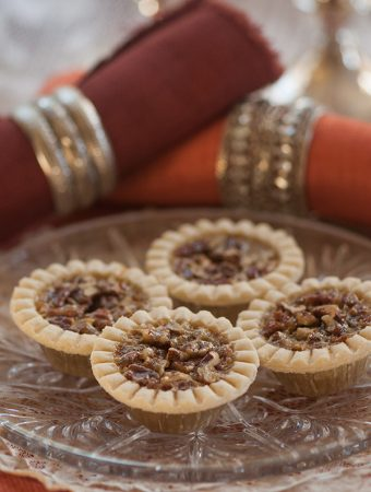 Mini Pecan Pies for 2