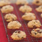 Cranberry Orange and Chocolate Cookies