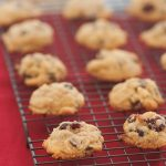 Cranberry, orange chocolate chip cookies