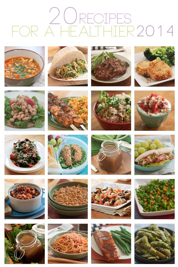 20 recipes for a healthier 2014