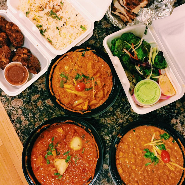 Favourite Indian eats in Toronto including butter chicken!