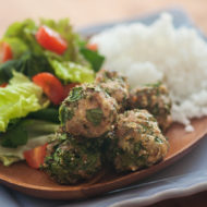 Turkey and Spinach Meatballs