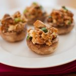 5 ingredient stuffed mushrooms