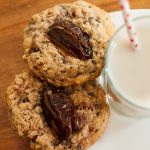 medjool date bacon and chocolate chip cookies