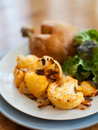 Sriracha Roasted Cauliflower