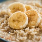 Cinnamon Banana Oat Porridge