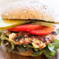 greek turkey burgers with feta