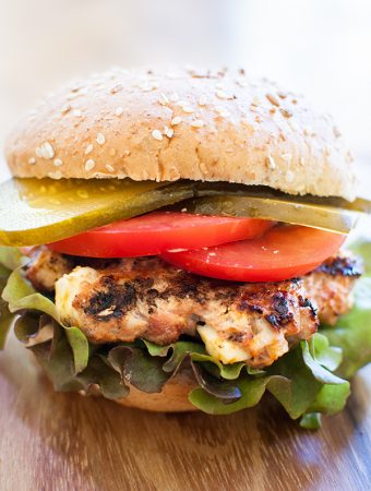 Turkey Burgers with Feta