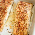 Peri Peri & Walnut Mustard Salmon
