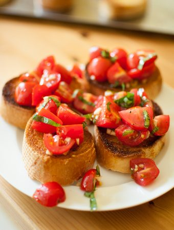 Easy Homemade Bruschetta [video]