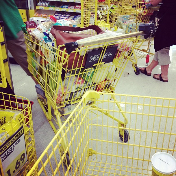 Shopping at No Frills