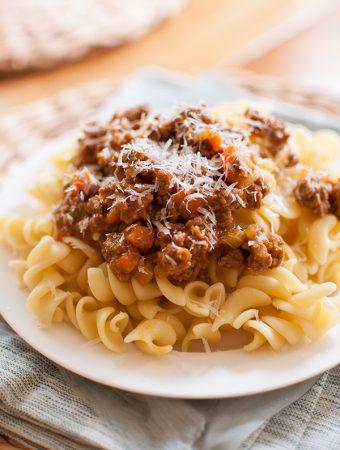 Homemade Bolognese Pasta Sauce