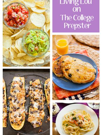 living lou college prepster recipes