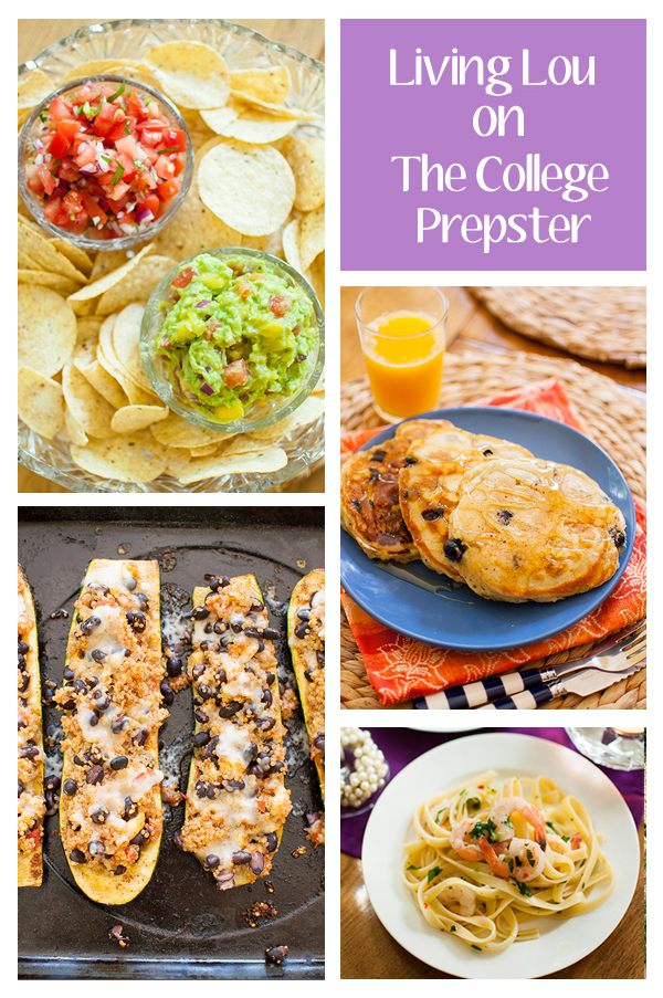 College Prepster: 5 New Recipes