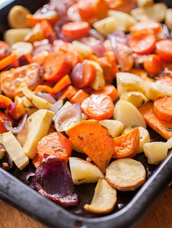 The best Roasted Root Vegetables