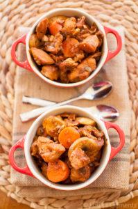 Chicken Stew Fresita Sparkling Wine