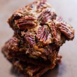 double chocolate pecan pie bars