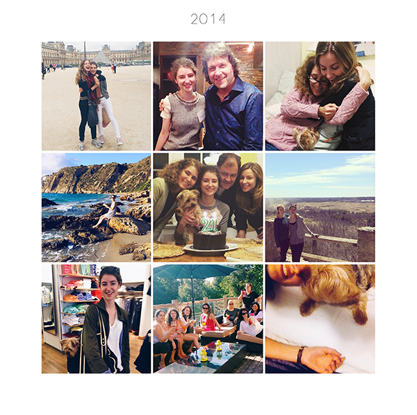 2014 collage