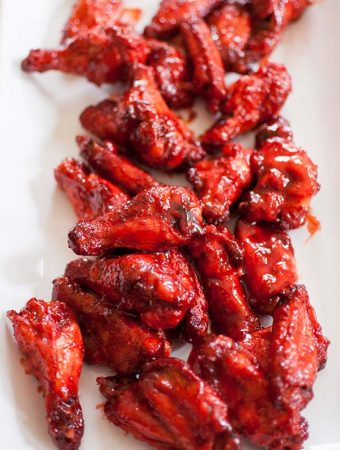 Sticky Tandoori Spiced Chicken Wings