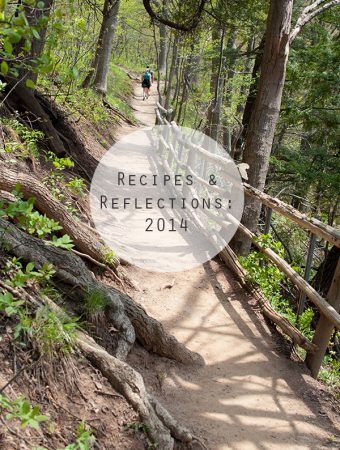 recipes & reflections of 2014