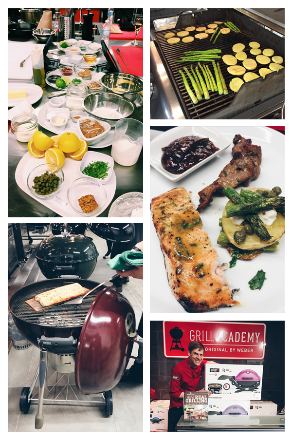 grilling class at the weber grill academy