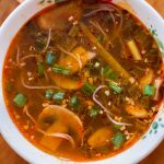 Spicy Ginger Scallion Soup
