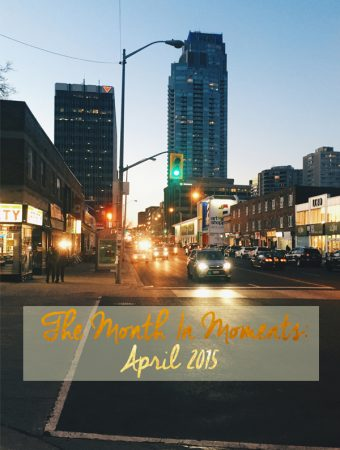 The Month in Moments: April 2015