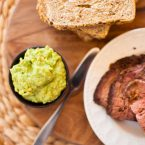 Take your sandwiches to the next level with this simple and healthy avocado horseradish sandwich spread!   via livinglou.com