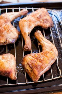 Moroccan Roasted Chicken Legs