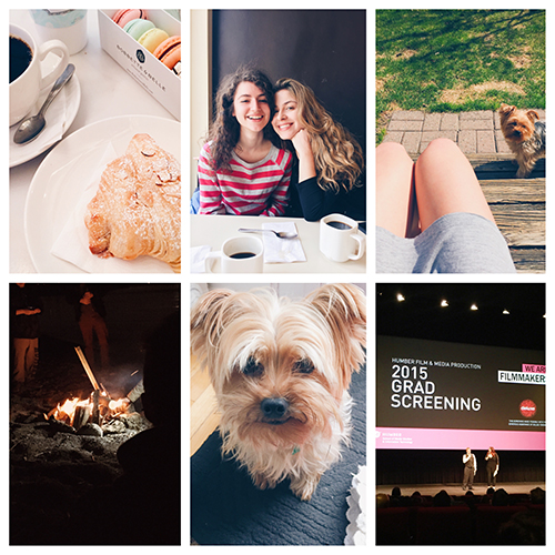 Taking a look back at some great moments of April 2015.