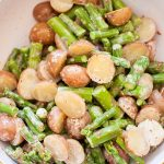 Potato Salad with Asparagus