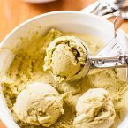 Enjoy your favourite Japanese dessert at home with this recipe for homemade green tea ice cream. | livinglou.com