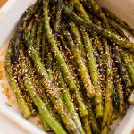 Grilled Asparagus with Sesame Dressing