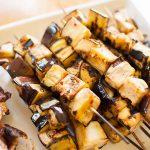 Grilled Eggplant Skewers