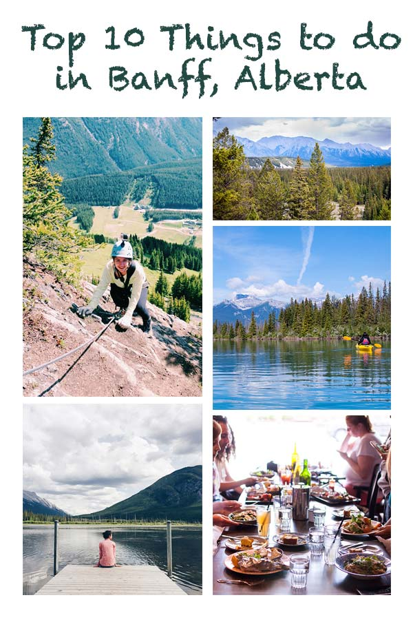 Top 10 Things To Do In Banff Alberta Living Lou