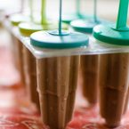 Maple mocha fudge pops are the perfect cold treat for the summer.   livinglou.com